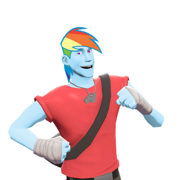 Rainbow Scout: Colorful, Annoying Speedster by BigPanOnCampus