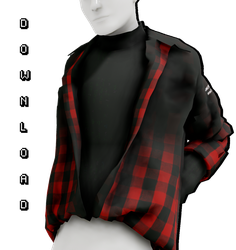 [MMD] Tucked in Shirt (+DL,UNISEX) by AppleWaterSugar