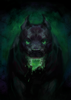Hell Dog by Kutty-Sark