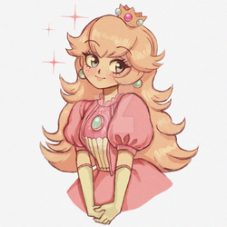 Princess Peach by sakurakiss777