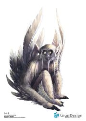 Feather Coat Monkey by GrandDesign-Artteam