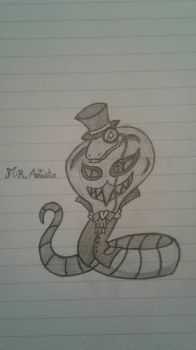 Mr.Aleister Arbok by FriezaTheTyrant