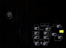 Five Nights at Freddy's 2 Marionette by Rubysmooby