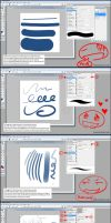 Photoshop Line Art Tutorial by Ivraie