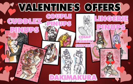 VALENTINE'S OFFERS 2018 by shiverz