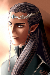 A Lord of Elves by MellorianJ