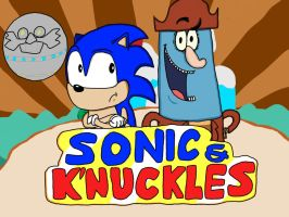 Sonic and K'nuckles by TunesLooney
