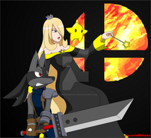 Cynthia and Hypon - Time to Smash! by LucarioShirona