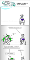 Minecraft Comic: CraftyGirls Happy B-Day Our Queen by TomBoy-Comics