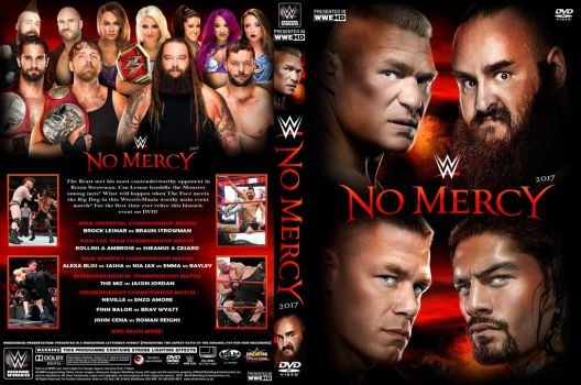 WWE No Mercy 2017 DVD Cover by Chirantha