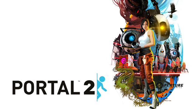 Portal 2 Movie Poster Wallpaper (Valve) by Woppy42