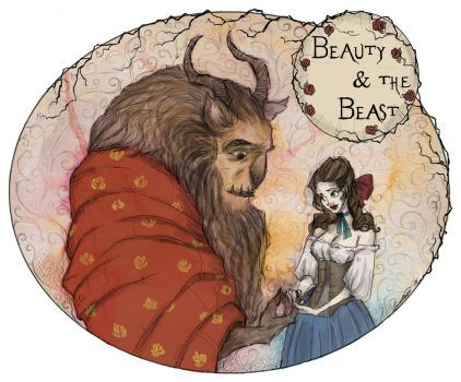 Beauty and the Beast by LaraBerge