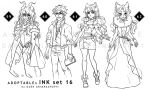 Adoptables : INK set 16 [2/4OPEN] by MrDark91
