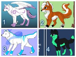 Adopts (3/4 open) by FlameNelson