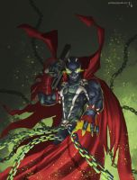 Spawn Fan art by Javilaparra