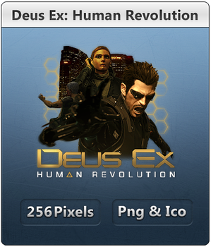 Deus Ex 3 - Icon 2 by Crussong