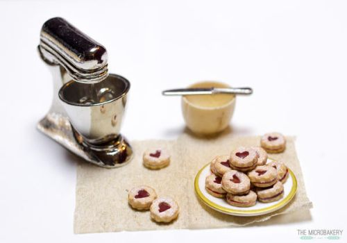Linzer Jam Cookies 5 by TheMicroBakery