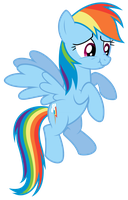 Rainbow Dash -  Imminent Laughter by bobsicle0