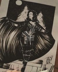Yennefer ink by JovannaHailblade