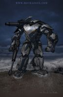 Tiger Shark Mech Colored by Mecha-Zone