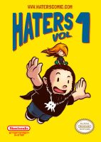 HATERS - the webcomic  Vol1 (color) by evilself