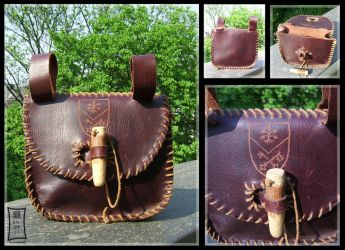 Leather Belt Bag by Siobhan68