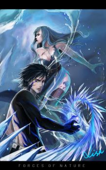 Forces of Nature - Gray and Juvia by Warb1rd