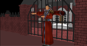 Auron for mmd by Valforwing