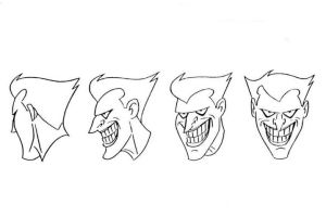 Joker Model Sheet II by Nes44Nes