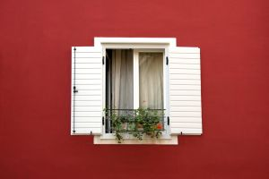 Red Wall 11019517 by StockProject1