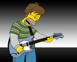 The Rocking Homer J. Simpson by pixelray