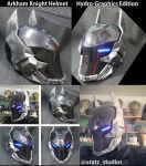Arkham Knight Helmet Hydro Graphics Edition by Uratz-Studios