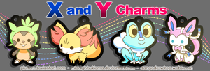 Pokemon X and Y Charms