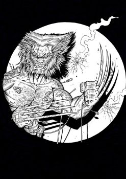 Weapon X inks by grifth