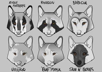 [CE] Face Marking Concepts by Tzvii
