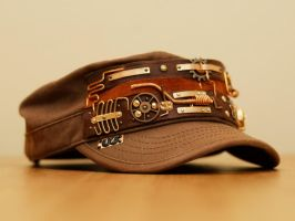 Steampunk hat V4 signed by yukosteel