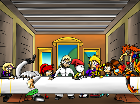 DW Last Supper by AlphaAnt4