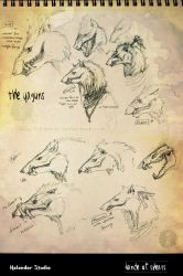 yagun face concepts by hikigane