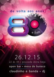 80's flyer by tutom