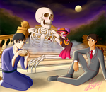 Of bones, flesh and bread: Contest entry by sayuri12moonlight