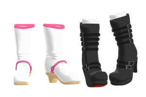 MMD DL:Final Fantasy 15 Shoes by Theshadowman97