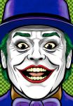 Jack Nicholson Joker by Thuddleston