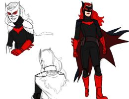 Batwoman redesign by pencilHead7