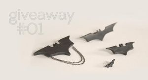 Batman Set Jewelry by designandberries