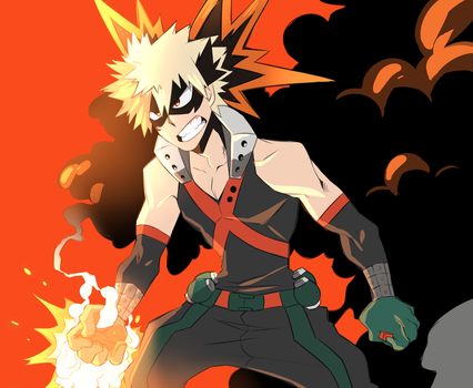 BakuGOING TO FAR by Anselovfyre