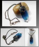 Torra- wire wrapped pendant by mea00