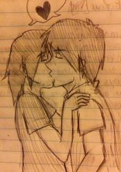 Percico kissing by FMA-Al-Lover