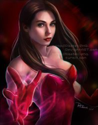 Scarlet Witch_ Wanda by pastellZHQ
