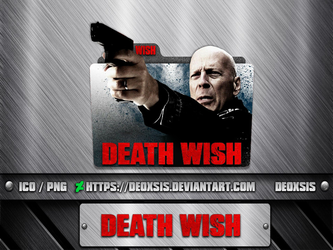 Death Wish [2018] Folder Icon by deoxsis