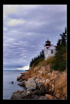 Bass Harbor Light by AnonymousPhotography